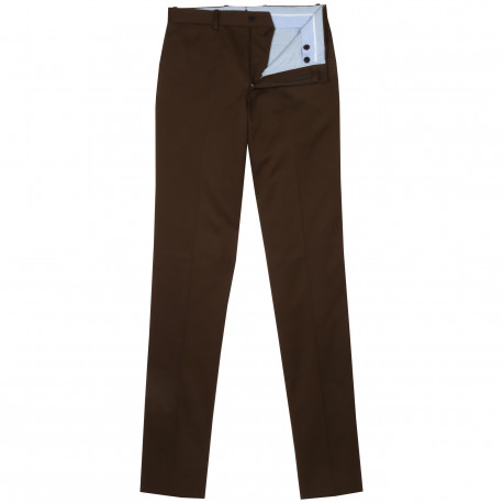 S2 - Pantalon chino - Marron