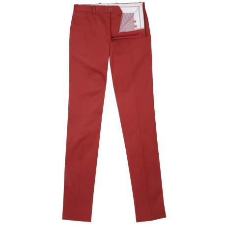 S2 - Pantalon chino - Nantucket red