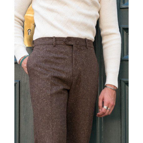 S2 / Classic Cut - Donegal Tweed - Brown